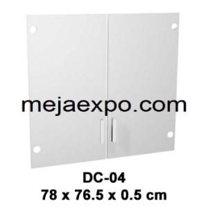 Meja Kantor Expo MD Series Lemari Arsip Kaca DC 04