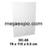 Meja Kantor Expo MD Series Lemari Arsip Kaca DC 05